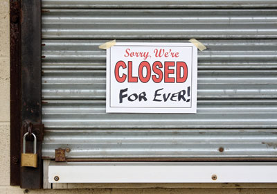When Caribou Shutters Stores, Who Pays The Rent?