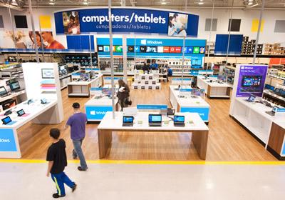 Best Buy To House Microsoft Windows Mini-Stores