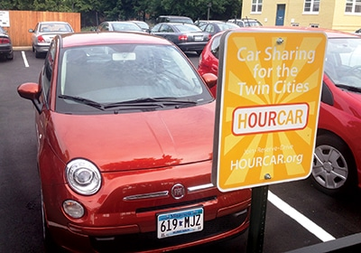 Hourcar Unveils New Business Plan Featuring All-Electric Cars, One-Way Car Sharing