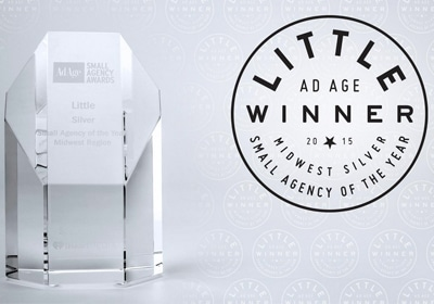 Little Honored With Small Agency Of The Year Award