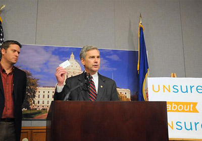 GOP Leaders, Dayton Representative Spar Over MNsure Performance Criticisms