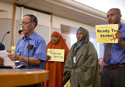 MSP Airport Workers Threaten To Strike For Higher Wage