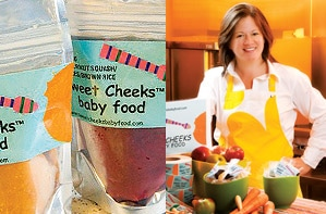 Sweet Cheeks Feeds Baby Locavores