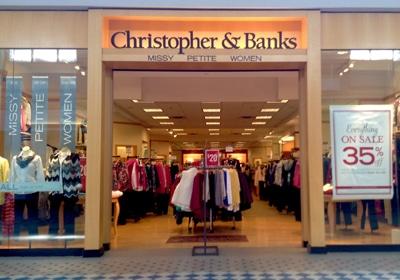 Christopher & Banks Continues Its Sales Slump