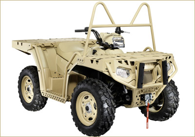 Polaris Lands Contract To Sell Vehicles To German Army