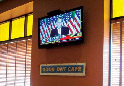 Station of Irritation at Good Day Café