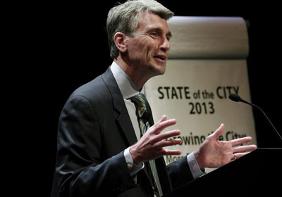 Rybak Sketches His 2025 Vision of Mpls in Final State of City Address
