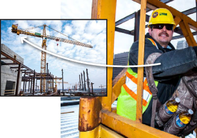 Tough Jobs: Tower Crane Operator