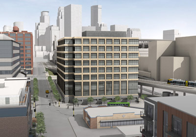 """United Properties Plans """"Spec"""" Office Project in North Loop"""