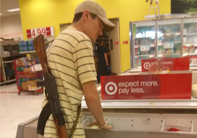 Amid Debate, Target Takes Stand Against Guns In Stores