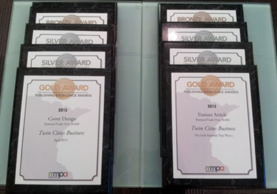 """TCB Wins 9 """"Excellence Awards"""" For Print And Digital Work"""