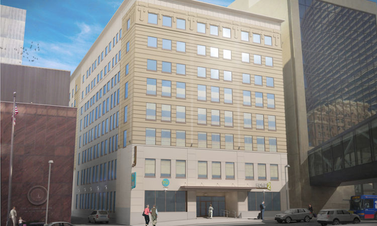 Two Hilton Hotel Brands Slated for One Empty Office Building