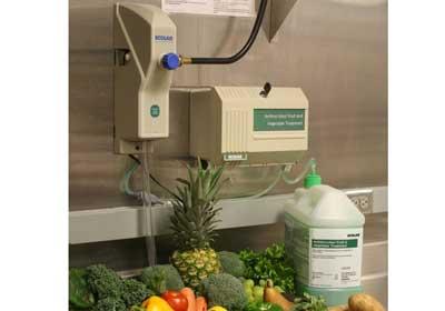 Ecolab's Produce-Wash System Reduces Foodborne Illness