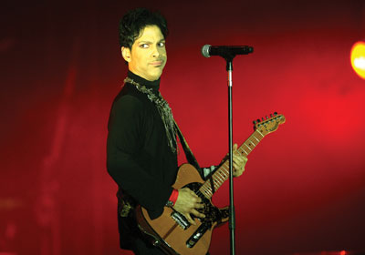 Prince, the Artist Formerly Known as Current on His Taxes