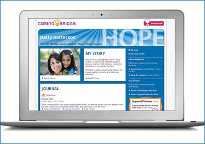 CaringBridge Teams With Hallmark For Website Content