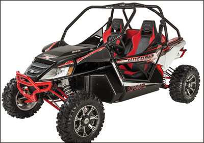 Arctic Cat's Wildcat Side-By-Side Vehicle