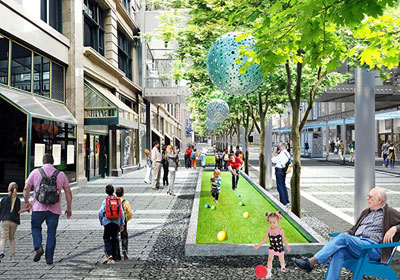 From Wayfinding To The Art Walk: A Look At The Latest Designs For The $50M Remake Of Nicollet Mall