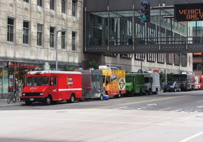 Food Trucks, Skyway Eateries Find Compromises