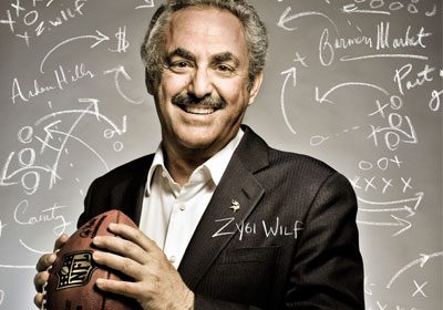 Zygi Wilf Plays The Game-August 2011