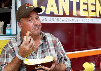 Why Andrew Zimmern Ditched His Food Truck
