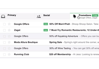 E-Marketers Respond To Gmail Inbox Changes