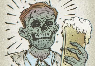 Bar Owners' Cash Cow, Zombie Pub Crawl, Arrives Saturday