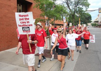 Nurses Union Gives 'Unanimous Endorsement' Of New Allina Deal, Likely Ending Strike