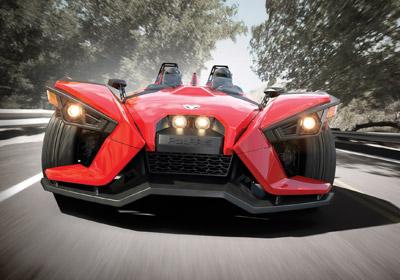 "Polaris Debuts Slingshot, A ""Three-Wheel Roadster"""
