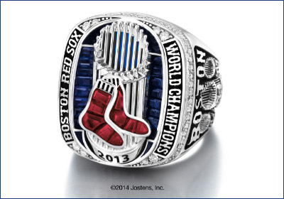 Jostens Delivers World Series Rings To Boston Red Sox