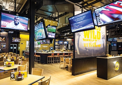 How Buffalo Wild Wings Is Rethinking The Sports Bar