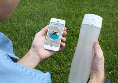 Local Startup Raises $627K For Smart Water Bottle