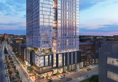 Apartment Tower On U Of M Campus Now Under Construction