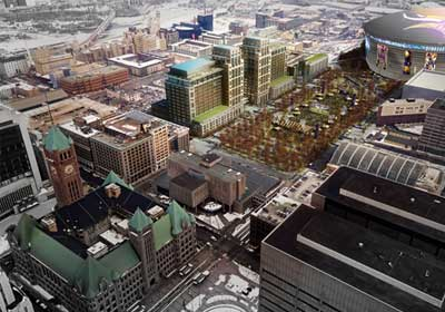 Mpls., Ryan Pitch $400M Project Near Vikings Stadium