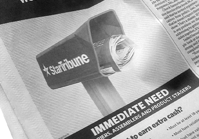 Newspaper Deliverers In Short Supply