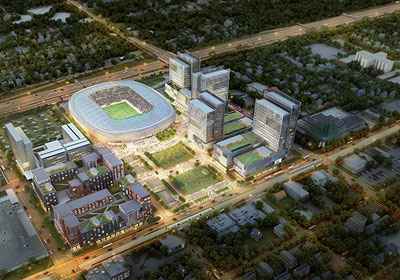 In St. Paul, A Tiff Over TIF Looms For Soccer Stadium Development