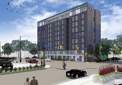 A Hotel Rises In Uptown