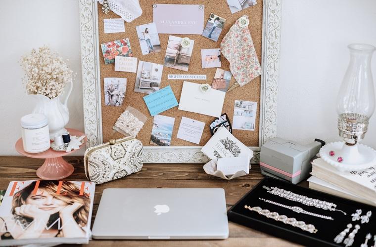 What's On My Desk: Wardrobe Consultant Alexandra Eve
