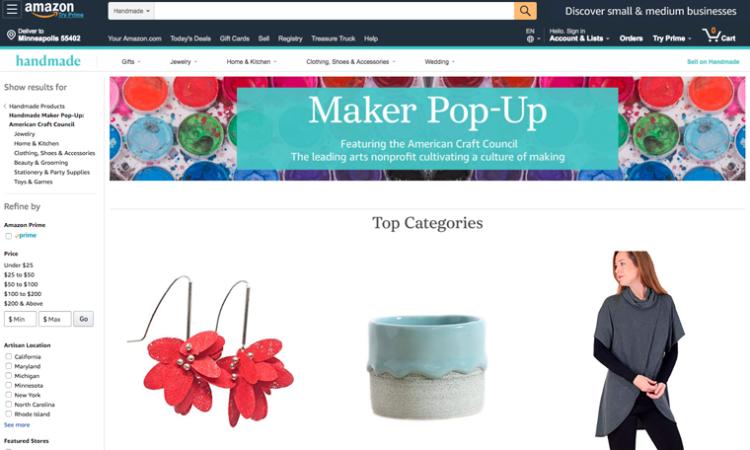 Minnesota Artisans Lead Amazon's Digital Pop-Up Shop for Handmade Goods