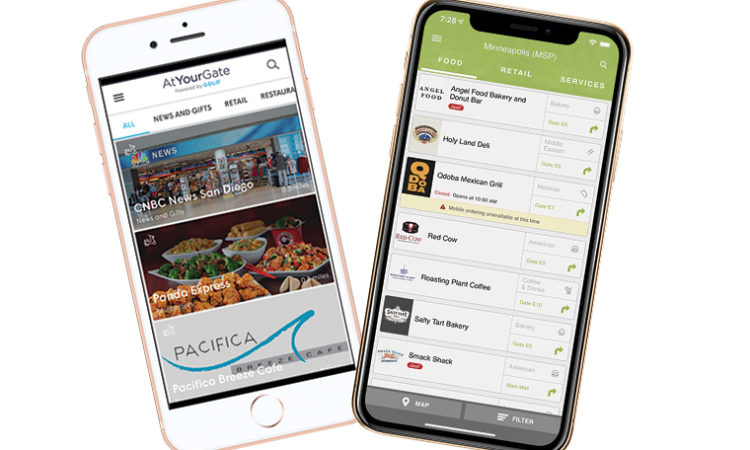 Two New Airport Apps Help Travelers Eat Their Fill