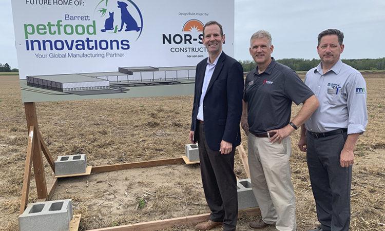 Brainerd Pet Food Maker to Build Plant in Little Falls