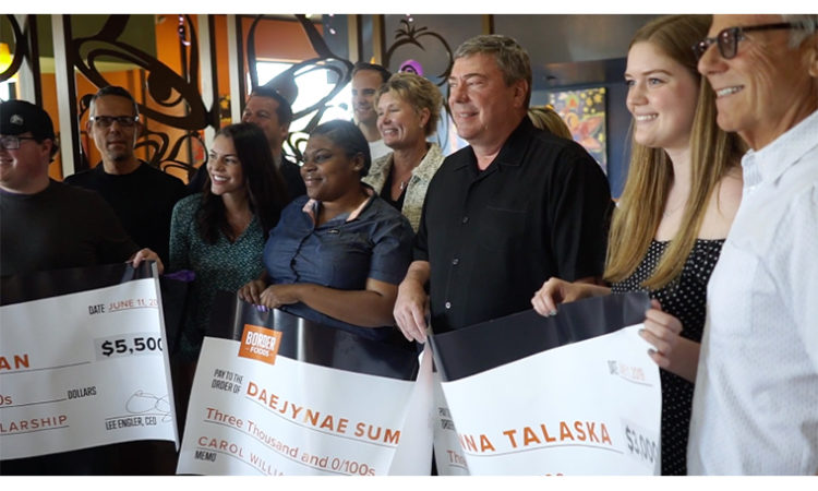 Taco Bell Franchisee Border Foods Unveils Scholarship Winners