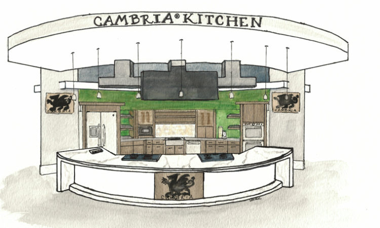"Cambria Introduces ""Cambria Kitchen"" for Live Culinary Demos at State Fair"