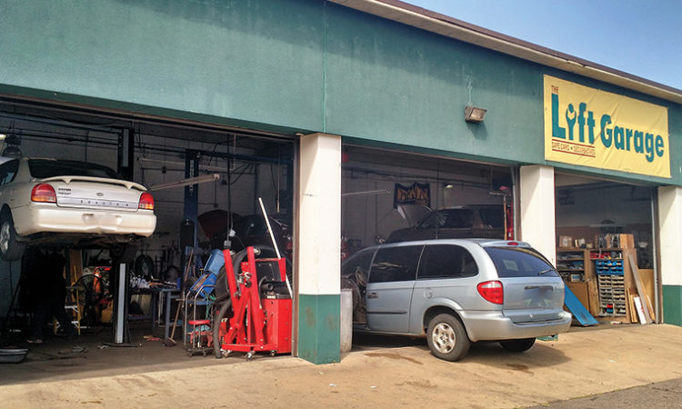 Car Repair Shop Gives Workers A Lift