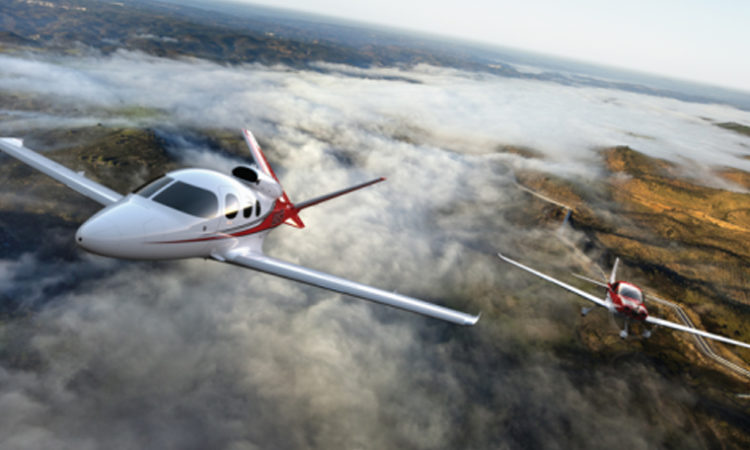 Cirrus Vision Jet Receives Approval for Flight in Europe, Australia