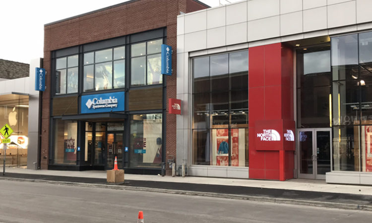 Exit of North Face, Columbia Sportswear Highlights Uptown Retail Challenges