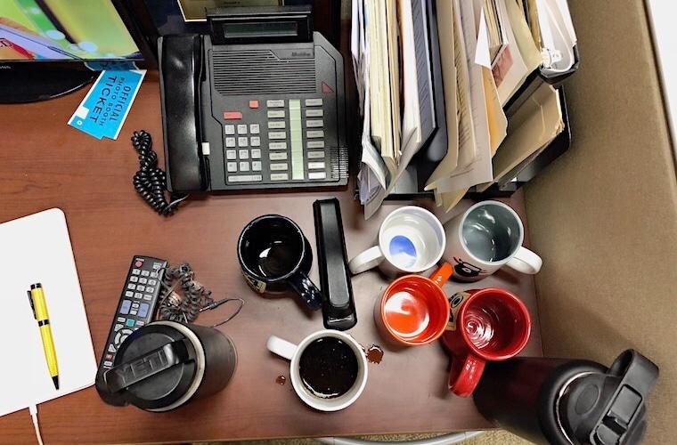 What's On My Desk: WCCO Morning Anchor Jason DeRusha