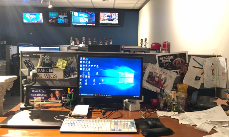 What's On My Desk: Eric Perkins, KARE 11 Sports Anchor and Director