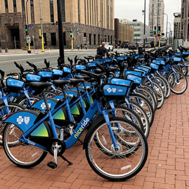 How Minneapolis and St. Paul are Acclimating to Dockless Bike Sharing