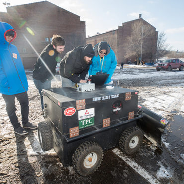 Here Come the (Snow-Fighting) Robots