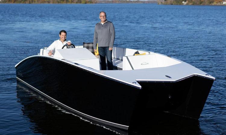 Ex-Medtech Entrepreneur Howard Root to Unveil World's First Electric Luxury Fiberglass Pontoon